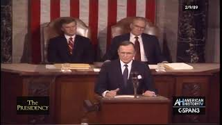 The Presidency: George H.W. Bush Speech to Joint Session of Congress