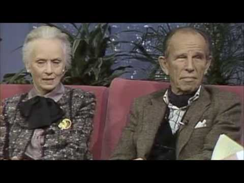 Hume Cronyn and Jessica Tandy, two of America's finest actors.