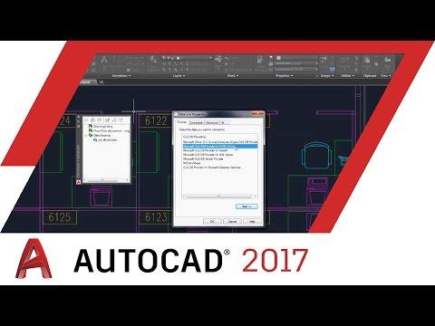 Beyond the Basics: Database Connectivity in AutoCAD 2017 WEBINAR | AutoCAD