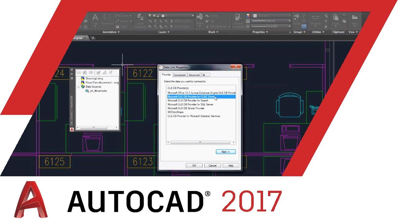 Beyond the Basics: Database Connectivity in AutoCAD 2017 WEBINAR   AutoCAD