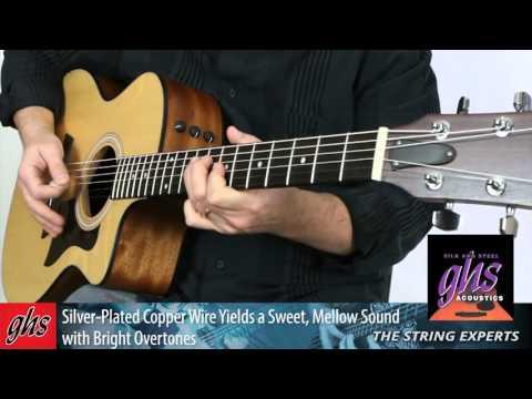 GHS Strings - Silk and Steel Acoustic Guitar