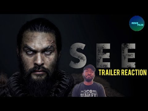 SEE Apple TV+ Official Trailer Reaction!