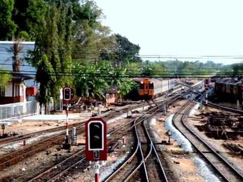 รถไฟไทย : กรุงเทพฯ - วัดช้างให้ - ชุมทางหาดใหญ่
