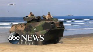 At least 8 Marines missing off California coast l GMA
