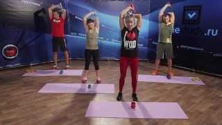 СИЛОВАЯ ТРЕНИРОВКА ДОМА | Упражнение для рук | Качаем трицепс!