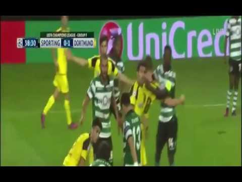 Download Sporting vs Dortmund 1 - 2  2016~All Goals & EXTENDED Highlights▪ 2016 ᴴᴰ