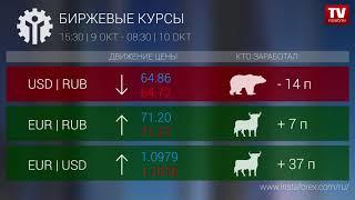 InstaForex tv news: Кто заработал на Форекс 10.10.2019 9:30