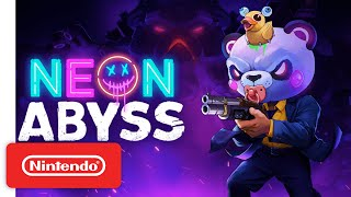 Neon Abyss - Release Date Announcement Trailer - Nintendo Switch
