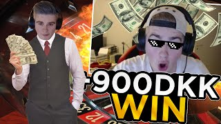 +900 DKK win pa Roulette (Gron) & Blackjack betting