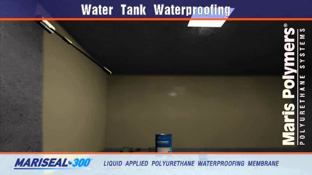 Water Tank Waterproofing Youtube
