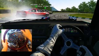 Assetto Corsa GoPro Online JDM DLC - 370z Ring + AE86 Tandems On Sportsland!