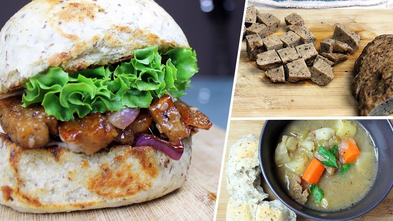 Beefy Beefless Seitan   Vegan Recipe