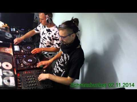BENJAMIN LECTER vs. Jesse Corona - Schranzbunker 02.11.2014   (4Deck 2Mixer)