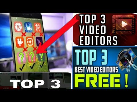 Best Video Editing Software Free   Top 3 Professional VIDEO Editing Apps For Android [video Editor]