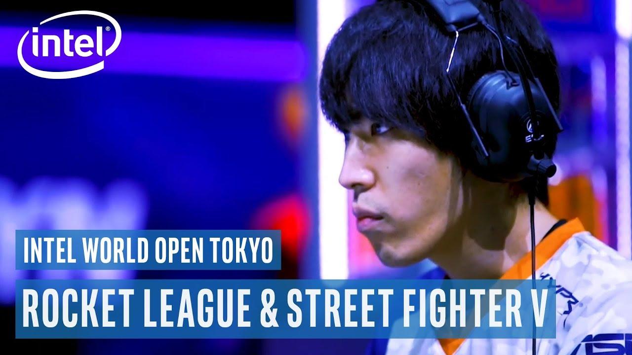 Intel World Open Tokyo Trailer | Rocket League & Street Fighter V | Intel Gaming