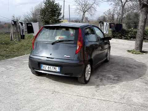fiat punto sporting 1 9 jtd by gio parte 1 youtube. Black Bedroom Furniture Sets. Home Design Ideas