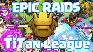Clash Of Clans - TITAN LEAGUE PUSHERS!!! ( EPIC PRO GAMEPLAY!!)