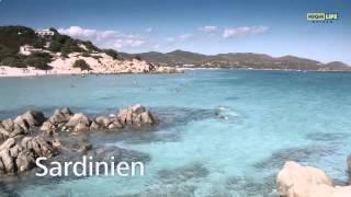 Острова Италии. Сардиния.(Острова Италии. Сардиния. Море у берегов острова Сардиния считается самым красивым в Италии и рекомендуетс..., 2014-11-04T17:42:51.000Z)