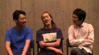 ニューヨーク公演出発直前の、成河さん、高田恵篤さん、瑞木健太郎さん...