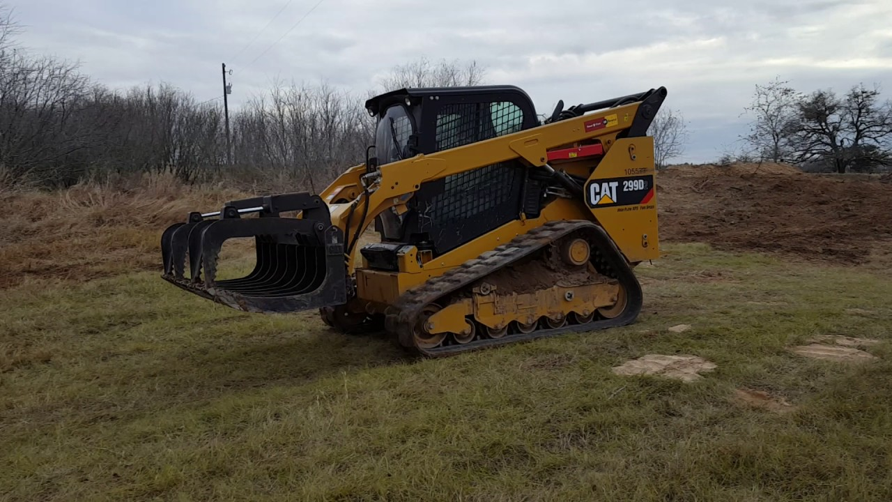 Cat 299d skid steer youtube cat 299d skid steer publicscrutiny Image collections