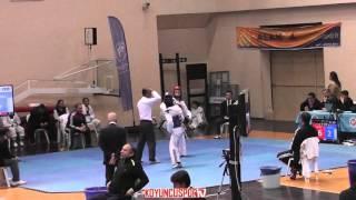 (5041) 46kg Elanur Celik vs Elif Dincer (2016 Turkish Junior TKD championships)