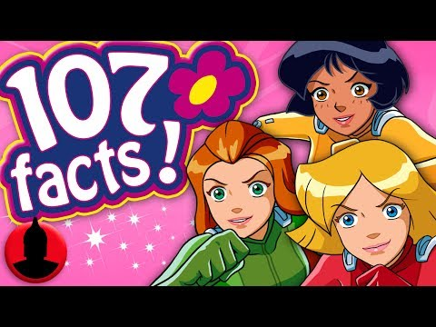 107 Totally Spies! Facts YOU Should Know - Cartoon Facts! (107 Facts S6 E17)