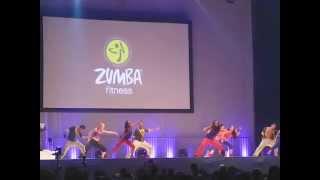 Beto Peréz Zumba Fitness Concert Stockholm 2012 - Warm up
