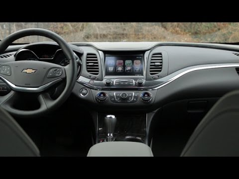 2015 Chevrolet Impala Interior Review - YouTube