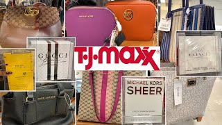 TJ MAXX LUXURY PURSES *DESIGNER PERFUMES & HANDBAGS $ PRICES | SHOP WITH ME 2019