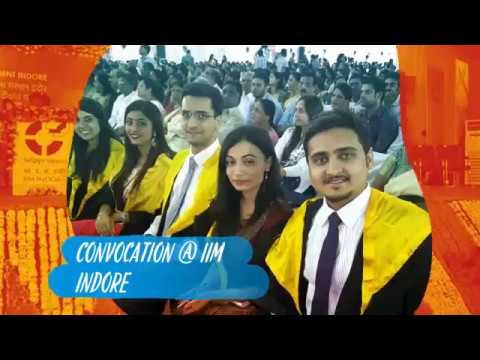 My conferral at IIM Indore....18th Convocation of IIM Indore