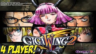 Dreamcast: Giga Wing 2! 4 Player Playthrough! - YoVideogames