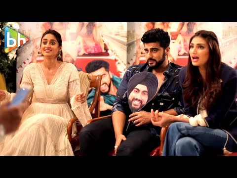 Arjun Kapoor | Ileana D'Cruz | Athiya Shetty | Full Interview | Mubarakan