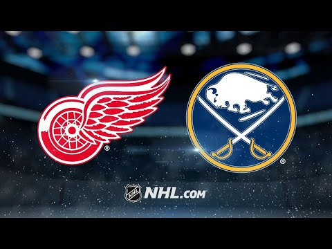 Red Wings double up Sabres, 6-3, to end road skid