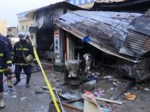 Dozens killed and Injured in Twin Blasts in Iraq