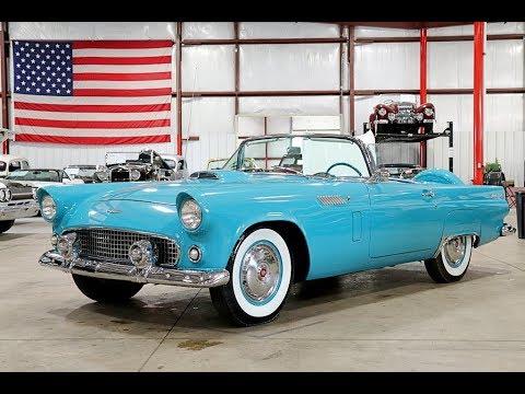 1956 Ford Thunderbird Teal