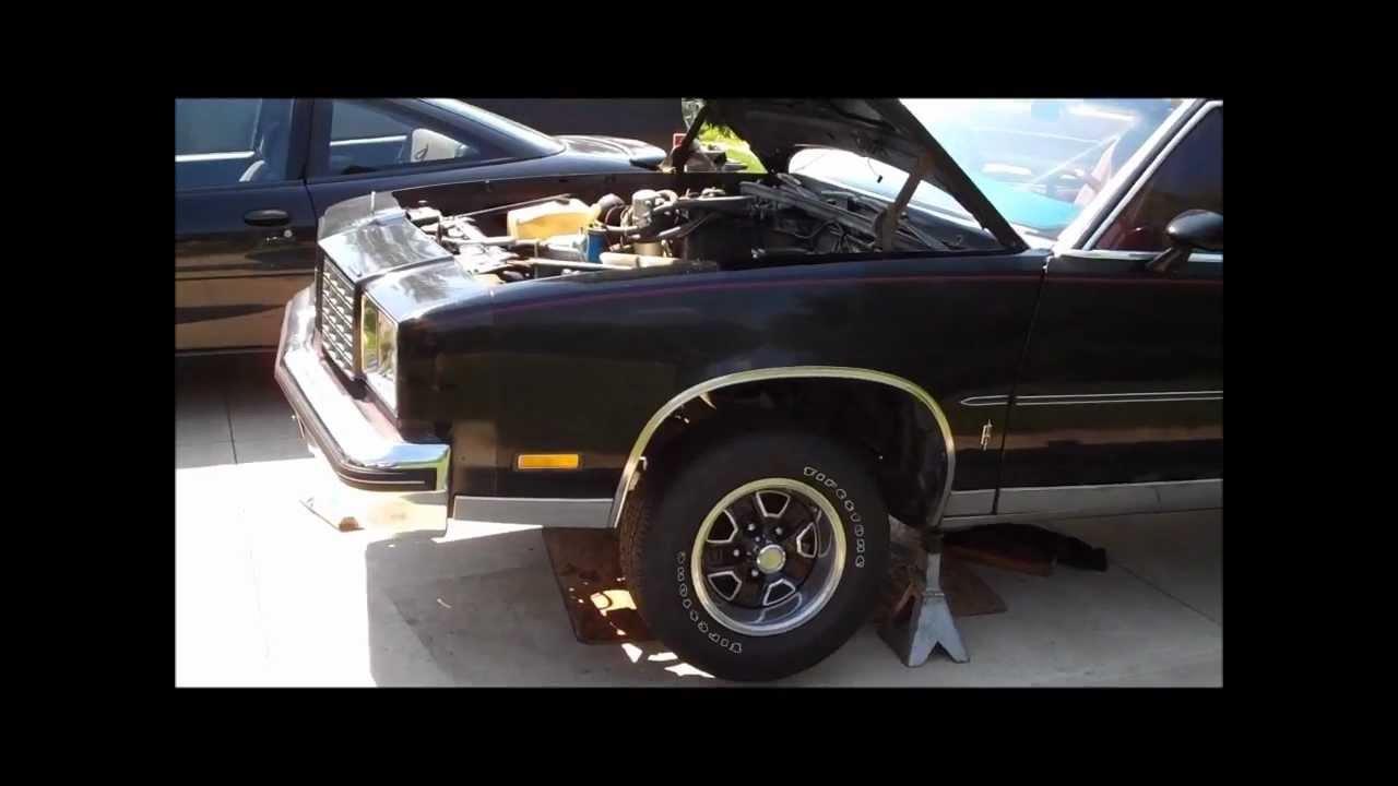 1979 Cutlass 403 Swap Progress Classic G Body Garage Youtube