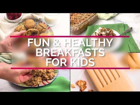 Fun & Healthy Breakfasts for Kids