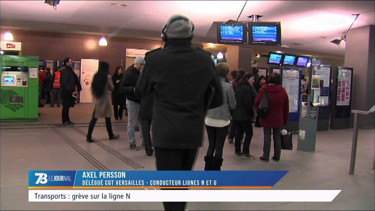 Transports : grève sur la ligne N