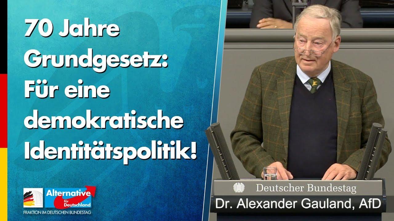 Eine demokratische Identitätspolitik! - Dr. Alexander Gauland