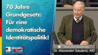 Eine demokratische Identitätspolitik! - Dr. Alexander Gauland - AfD-Fraktion im Bundestag