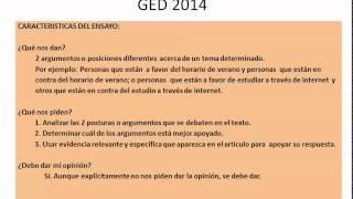 2014 ged essay writing