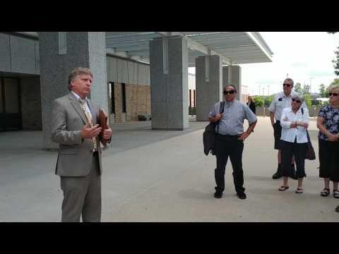 Attorney Bruce Nestor speaks 7/10/2017 after Ariel Vences-Lopez's immigration court hearing