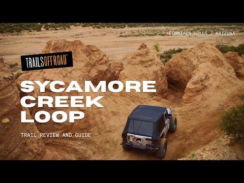 4x4 Off Road >> Sycamore 4wd Loop Phoenix Arizona 4x4 Off-Road Trail - YouTube