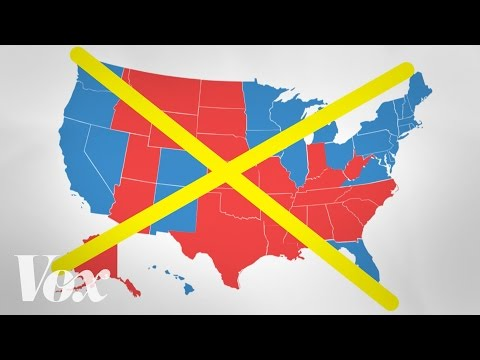 The bad map we see every presidential election