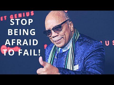 Stop Being Afraid To Fail | Quincy Jones | Carl Konadu