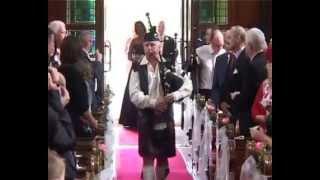 Irish wedding bagpiper Sean Kelly She Moved Through the Fair bagpipes dublin YouTube Thumbnail
