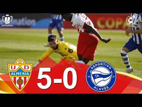 Almeria Alaves Goals And Highlights