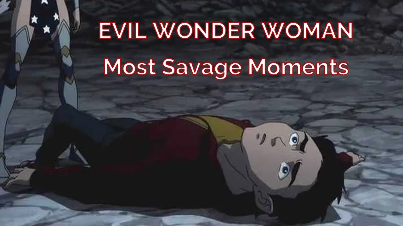 Download Top 4 Evil Wonder Woman Kills   Her Most Savage Moments
