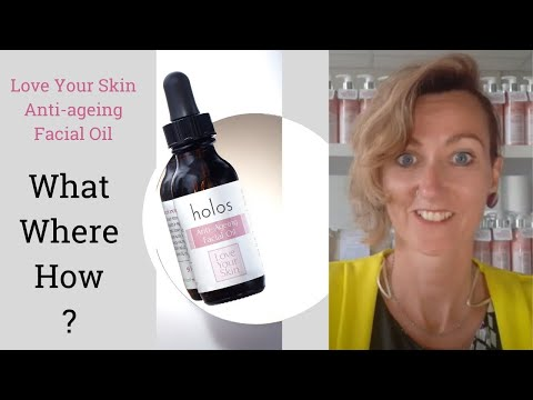 Holos - Love Your Skin Anti-ageing Facial Oil. What is it? What does it do? Who can use it?
