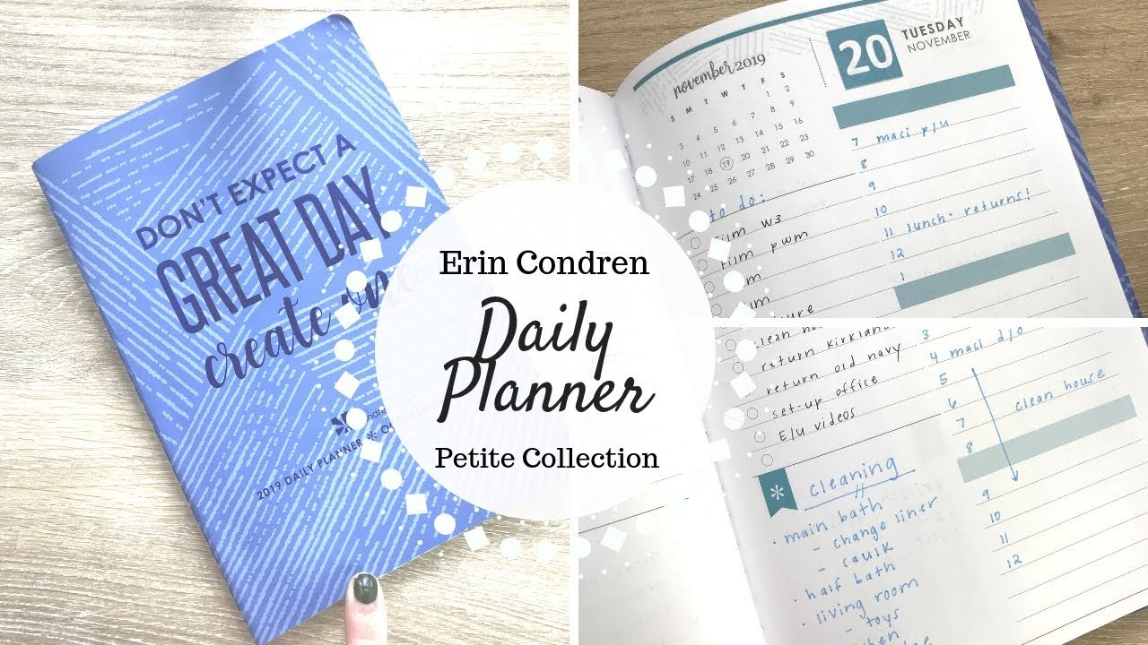 Crazy image pertaining to the daily planner